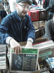 Hundreds of vinyl records and CDs will be for sale during the WESU 88.1 FM Fall Record Fair.