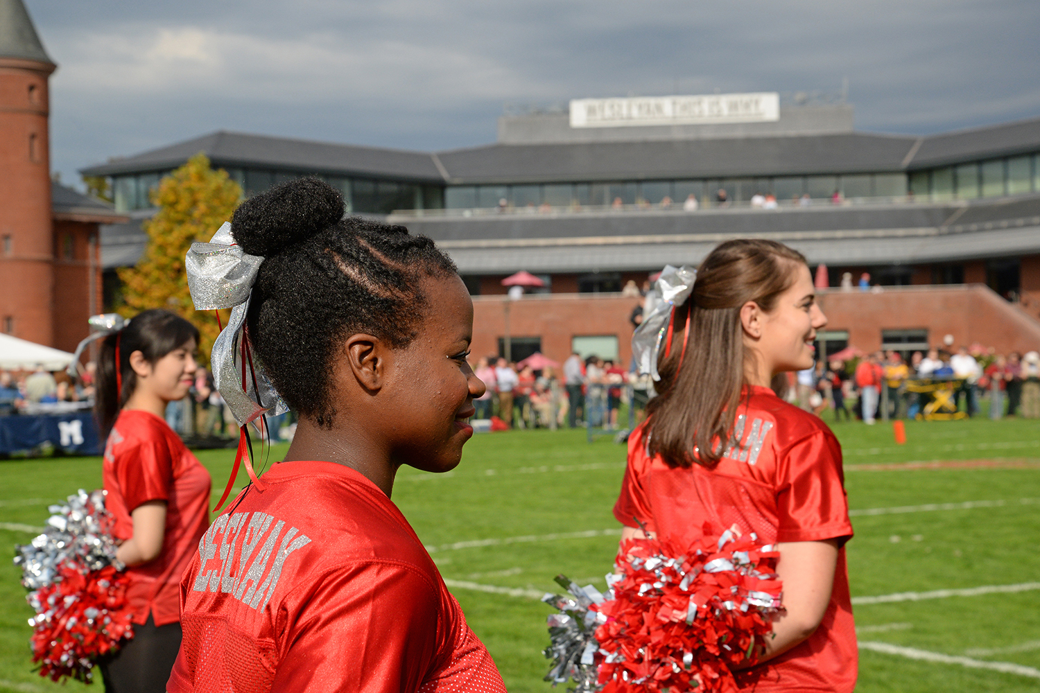 Homecoming Weekend at Wesleyan, Oct. 18, 2014. (Photo by Olivia Drake)
