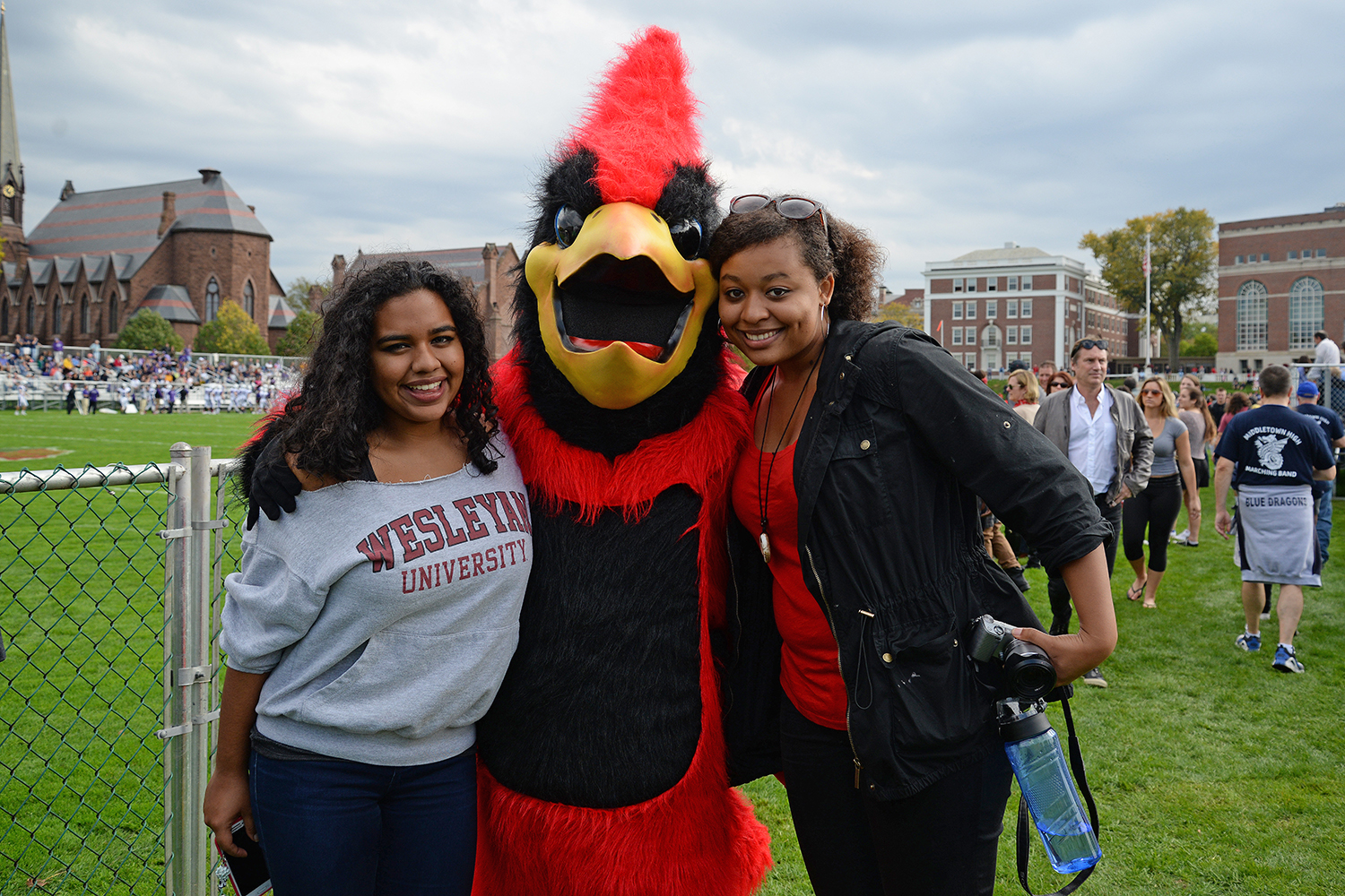 Wesleyan's Homecoming Celebration included six athletic contests.