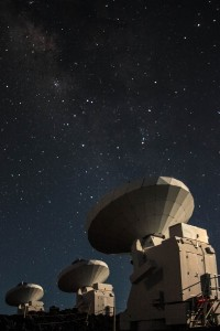 Jesse Lieman-Sifry took this photo of the Milky Way while doing research at the Sub Millimeter Array in Hawaii.