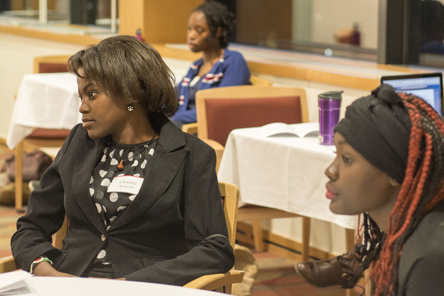 Wesleyan's African Students Association hosted an Africa Innovation Summit Nov. 7 in Daniel Family Commons.