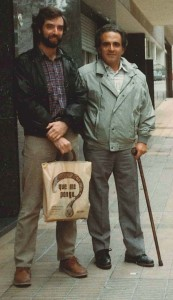 James McGuire and Guillermo O'Donnell in 1985.