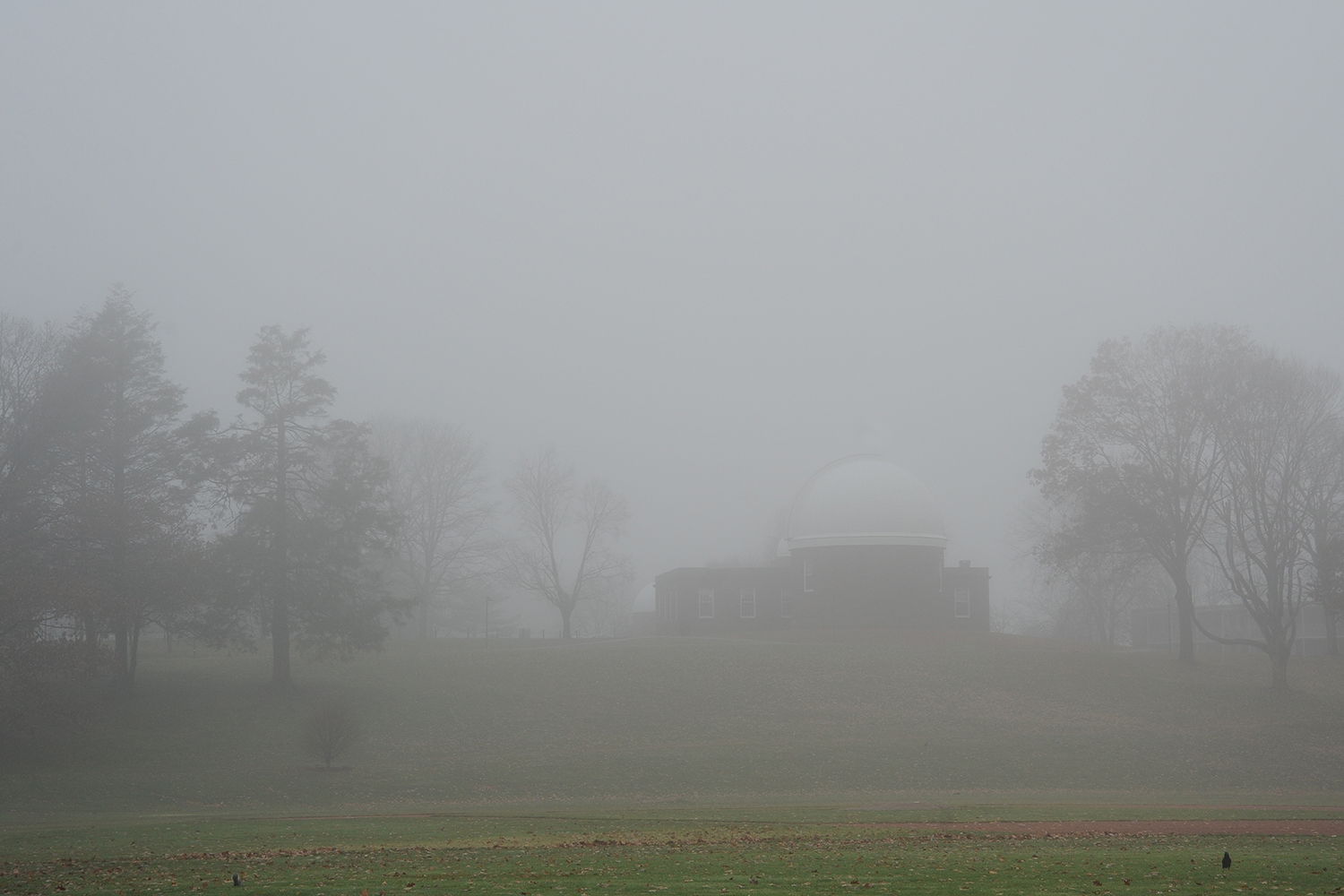 Foss Hill and the Astronomy Department.