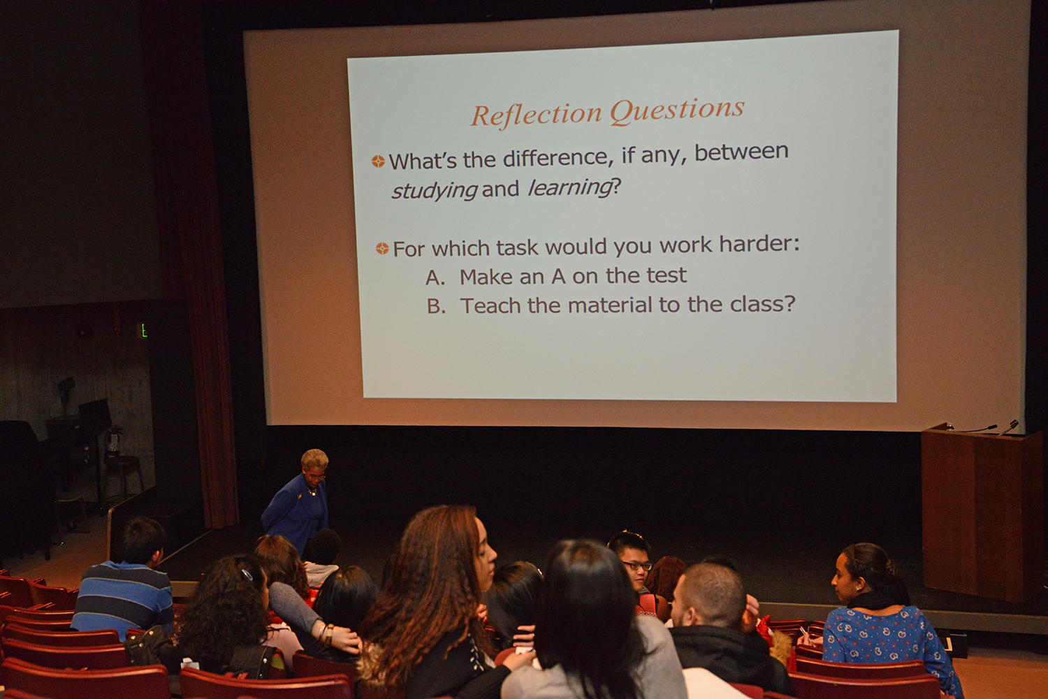The Center for Faculty Career Development offered four different teaching and learning workshops and a luncheon focusing on metacognition to Wesleyan faculty, students and staff on Jan. 29 and 30.