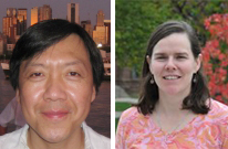 Sanford Shieh and Mary Alice Haddad recently received fellowships from the National Endowment for the Humanities.