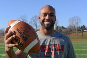 Next fall, Jay Fabien wants to coach fellow wide receivers at Wesleyan.