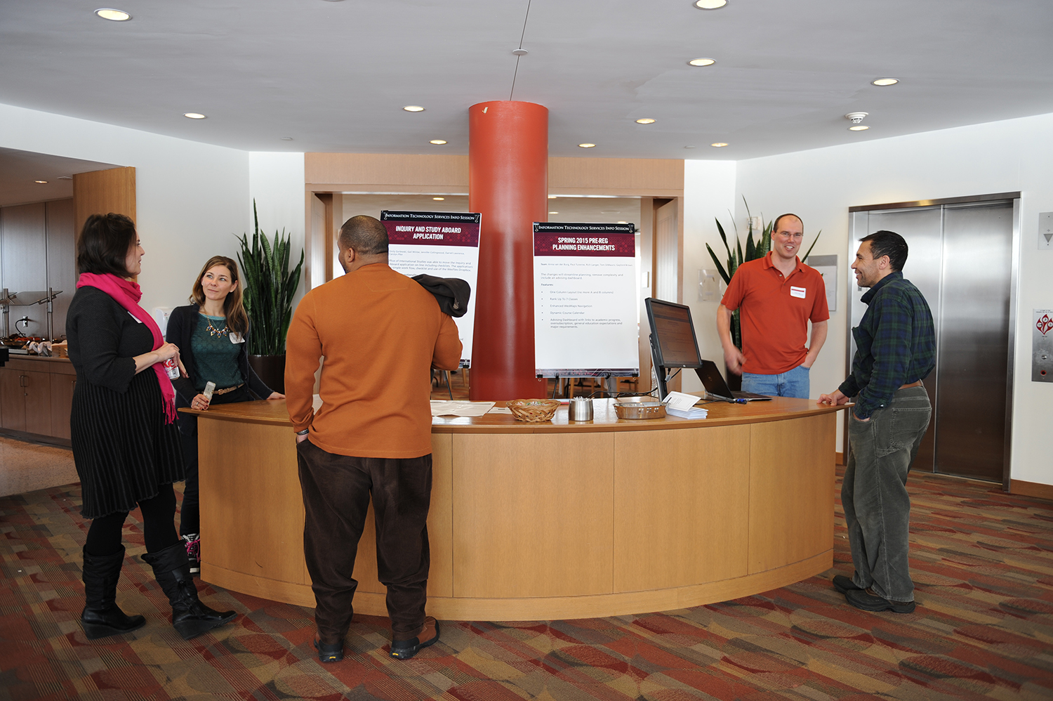 Participants learned about new and emerging technologies that ITS will be introducing in the coming year.
