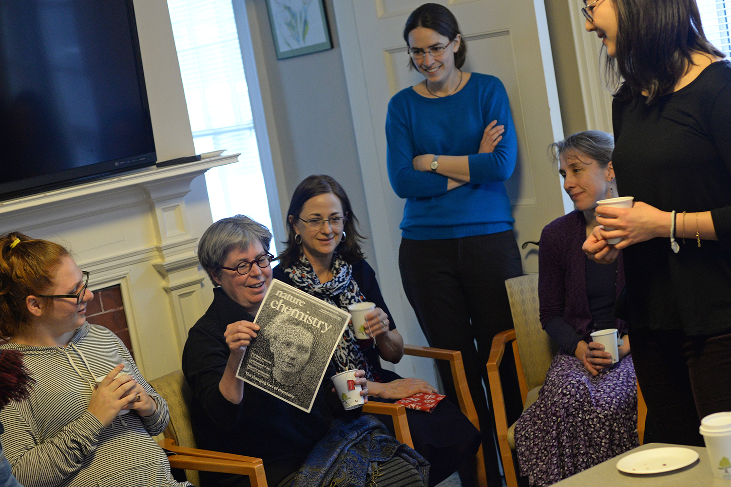 Wesleyan Women in Science Tea Reception, Feb. 19, 2015.