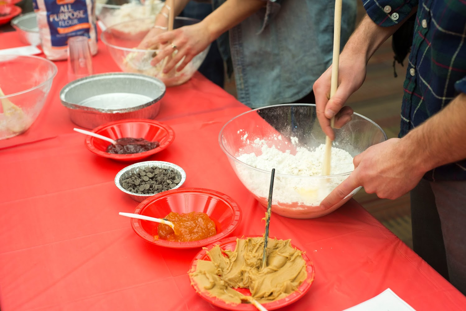 """We held the event as a way for students to get together to celebrate the holiday as a community,"" Renetzky noted. ""It was great, a nice intimate and exciting positive environment which served as a nice break to midterms stress. ...Both Jews and non-Jews alike came by to make some Hamantaschen and learn about why we make them in the first place. I'd say the event was definitely a success."""