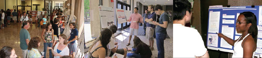 Dozens of students will present their research at the Celebration of Science Theses on April 17.