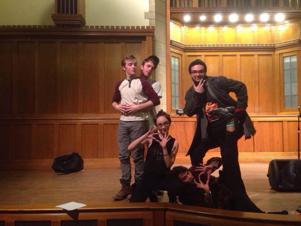 Wesleyan's slam poets competed against five other teams.