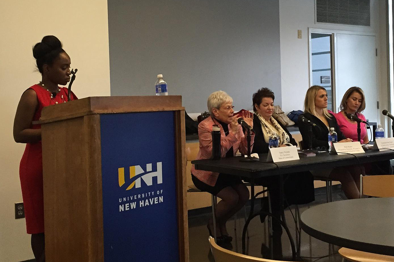 """It was not, for the most part, polarized, and we answered questions about what holds women back from getting involved in politics and how to galvanize younger women today into getting more involved,"" Sveen said of the panel."