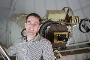 Seth Redfield, campus director of the NASA CT Space Grant Consortium, reports that several students and faculty have recently been awarded grants for their research in astronomy. Photo c/o Redfield