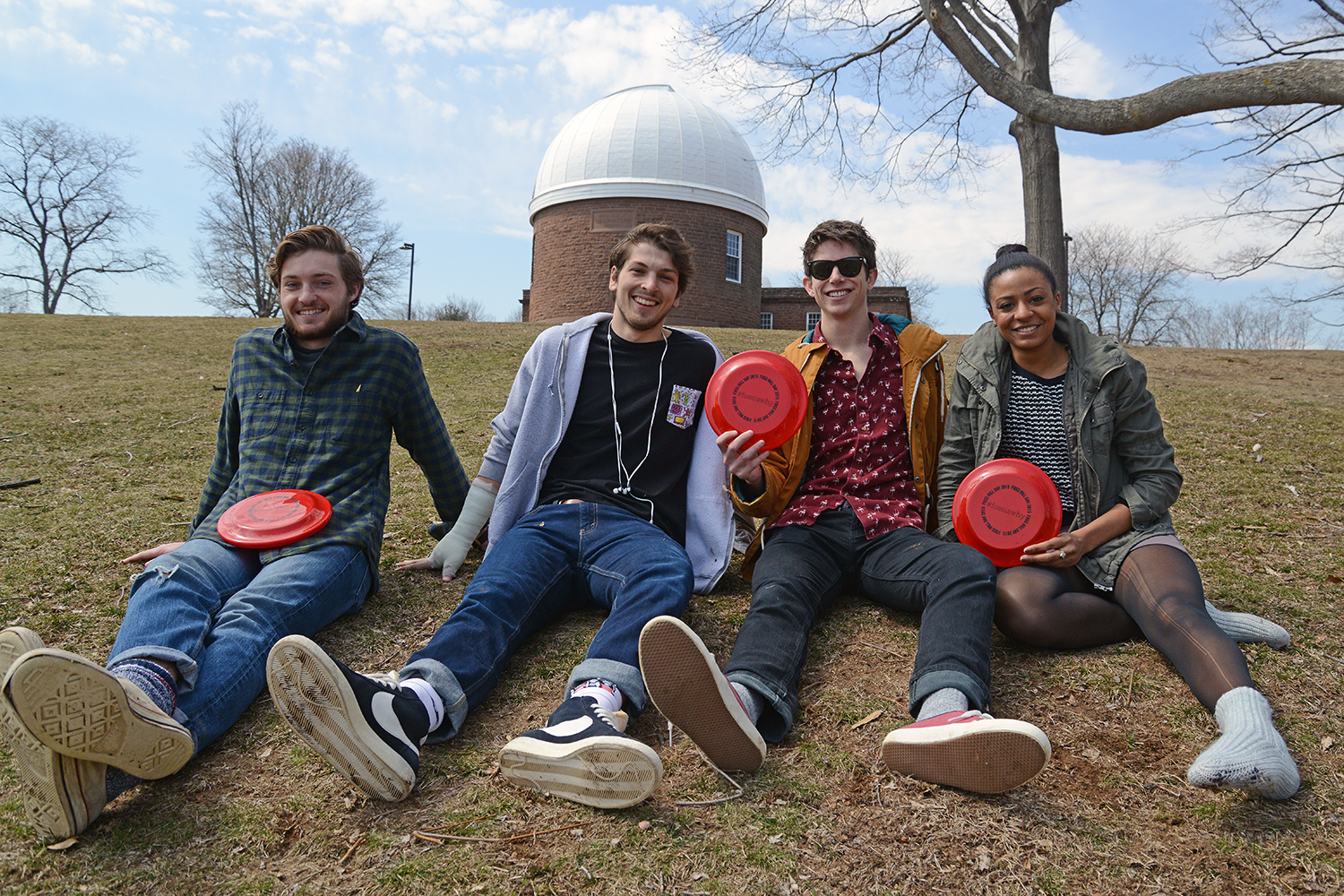 Foss Hill Day at Wesleyan, April 2, 2015. (Photo by Olivia Drake MALS '08)