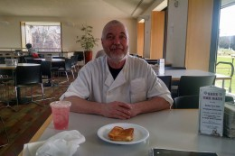 David Csere, winner of the Morgenstern-Clarren Social Justice Award, is known for his legendary grilled cheese sandwiches and knack for memorizing student's birthdays.