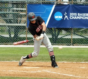 Donnie Cimino '15 was named all-NESCAC for the fourth year in a row, and set two Cardinal program standards: most career hits (240) and most hits in a season (69 in 2013).
