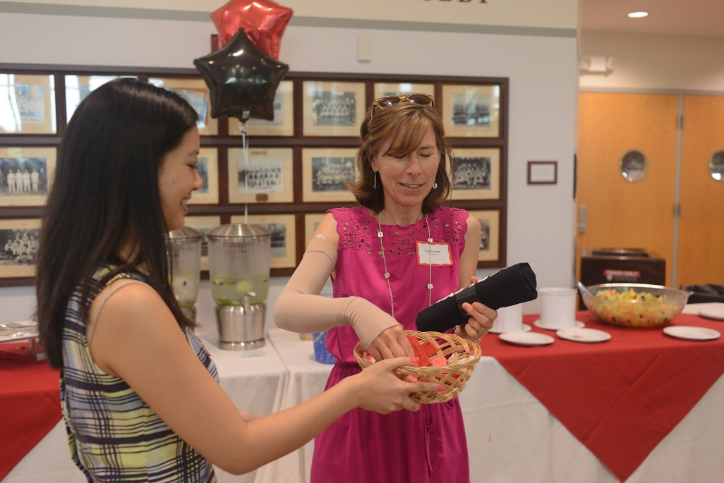 Cardinal Fit reception, May 2015.