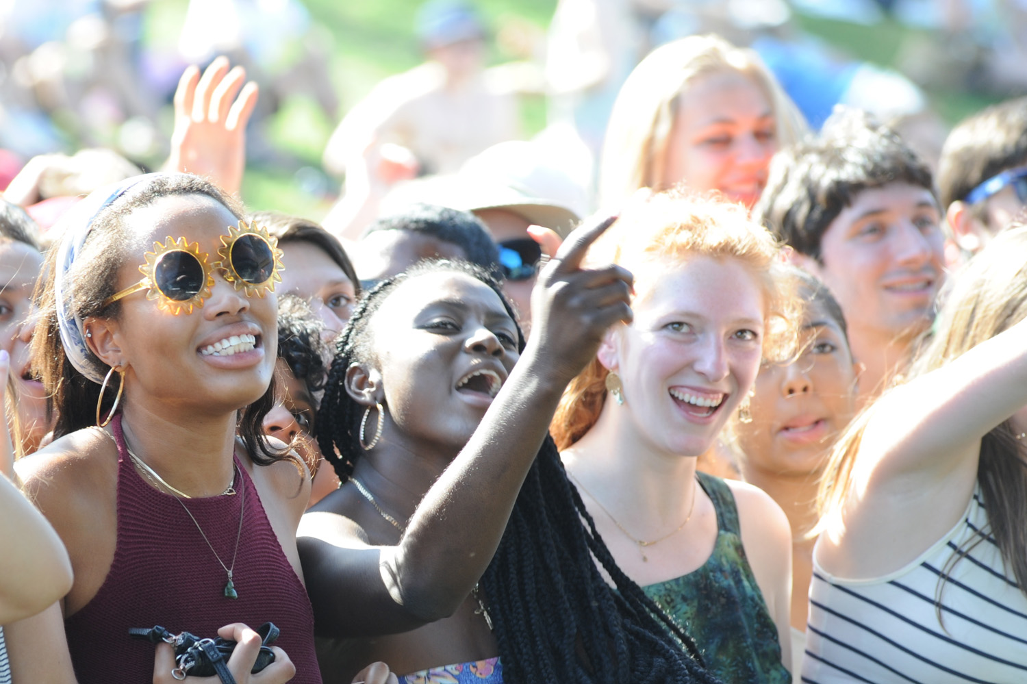 On May 7, students celebrated Spring Fling at Wesleyan University.