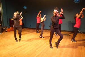 The Green Street hip hop group performed at the anniversary celebrations.  (photo c/o Lu Imbriano )