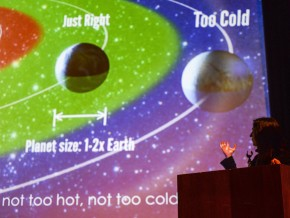 "Seager is a pioneer in the field of exoplanets, specifically in characterizing the atmospheres and searching for life on those distant worlds. Her talk addressed the age-old question: ""Are we alone?"""