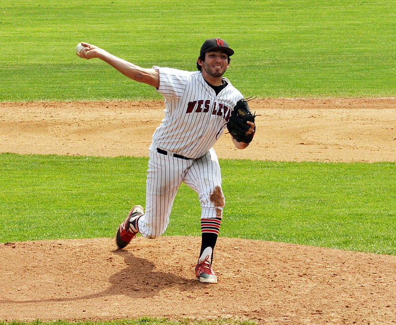 Sam Elias '15 was named NESCAC Pitcher of the Year.