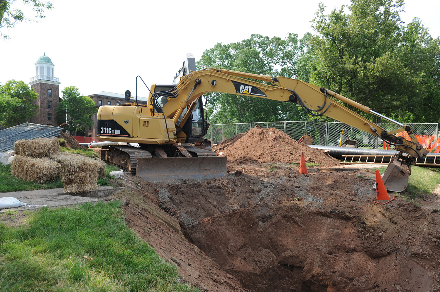 Several major maintenance and capital projects are taking place on the Wesleyan campus this summer.
