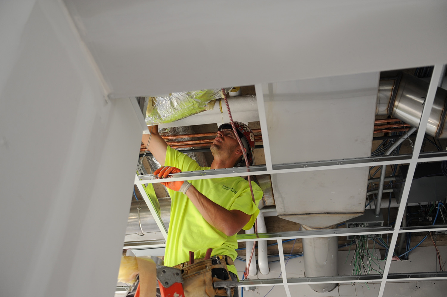 Renovations continue in several laboratories at Hall-Atwater, Exley Science Center, and Judd Hall.