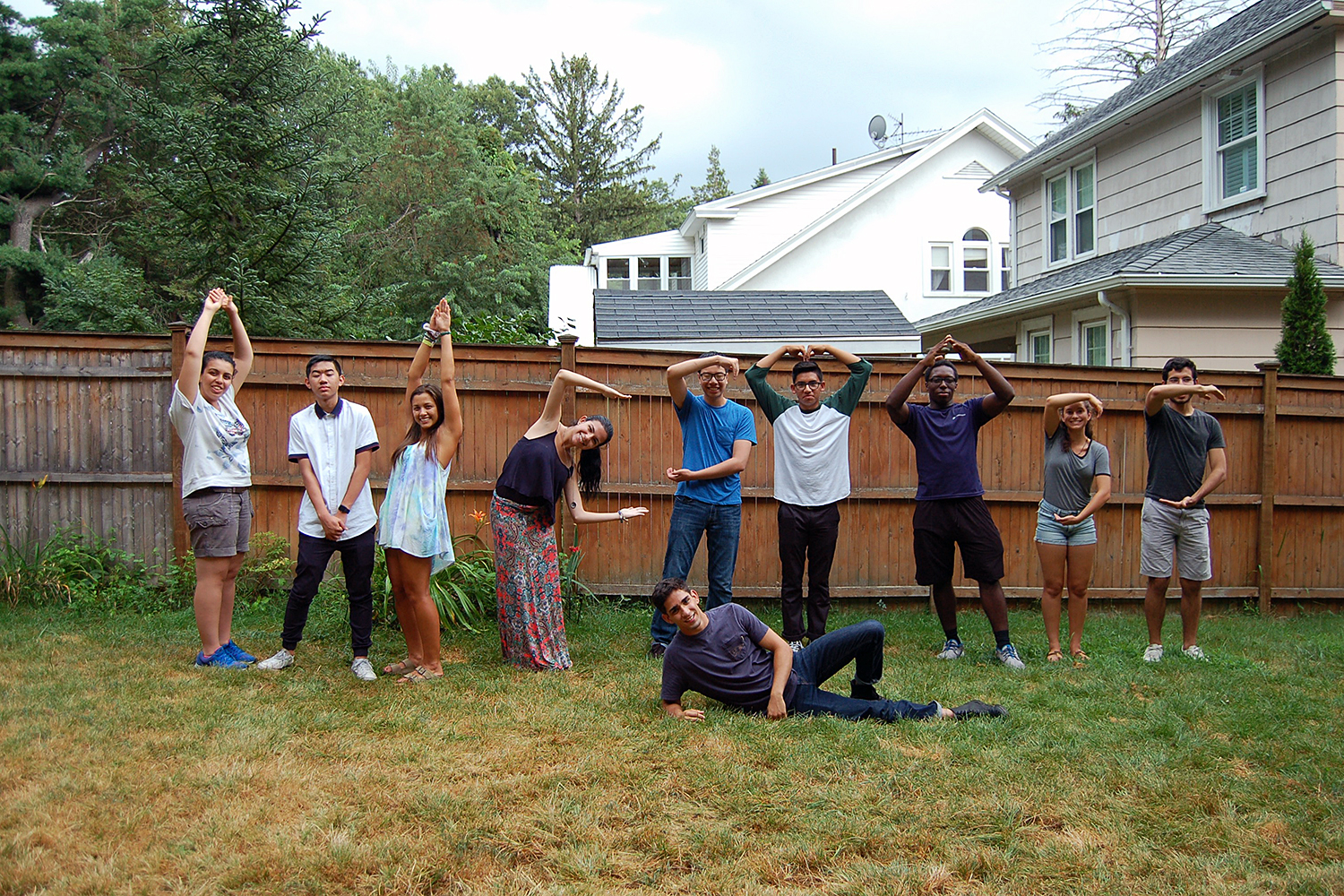 Ten WesMaSS scholars participated in a weeklong program on campus this summer.