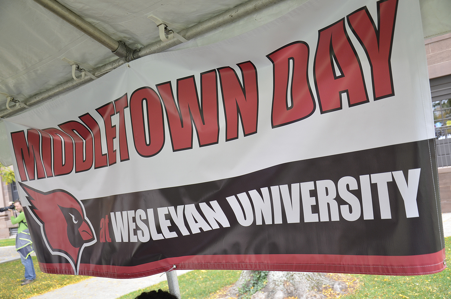 "The campus and local community are invited to Middletown Day on Sept. 26 —a day of family fun and athletic events on campus. The theme of this year's event is ""Salute to Service, Honoring Our Veterans."""