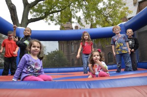 Family activities will run from 11 a.m.–2:30 p.m. and will include a bounce house, a face painter, a balloon artist, live music and free popcorn.