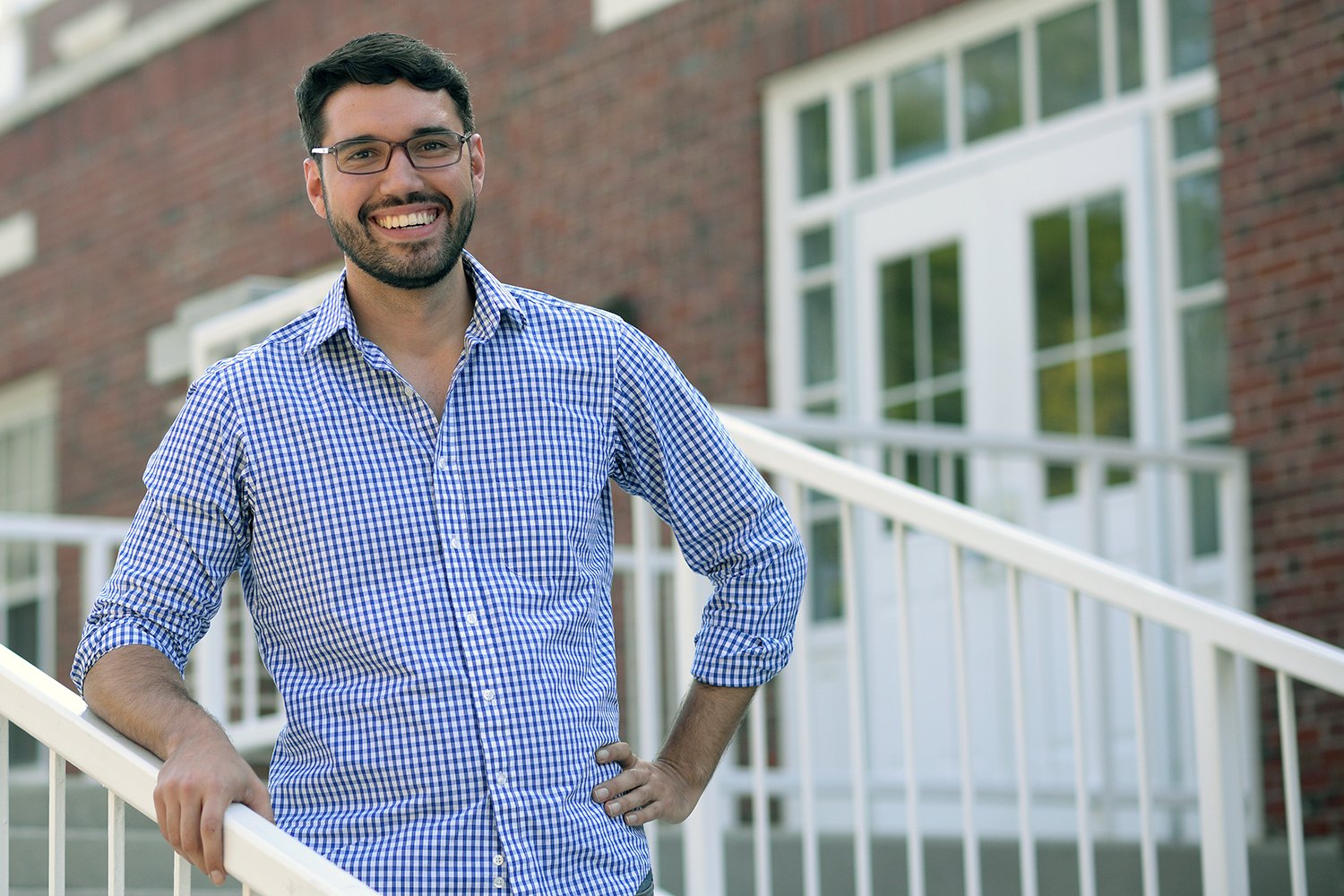 Assistant Professor of Government Yamil Velez's expertise lies at the intersection of psychology and political science.