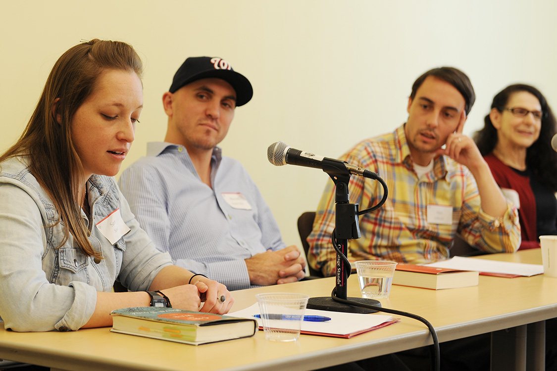 Words After War Writing Symposium at Wesleyan University, Oct. 10, 2015. (Photo by Will Barr '18)