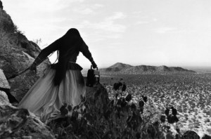 Soiree attendees voted to include Graciela Iturbide's silver gelatin print in the Davison Art Center's permanent collection.