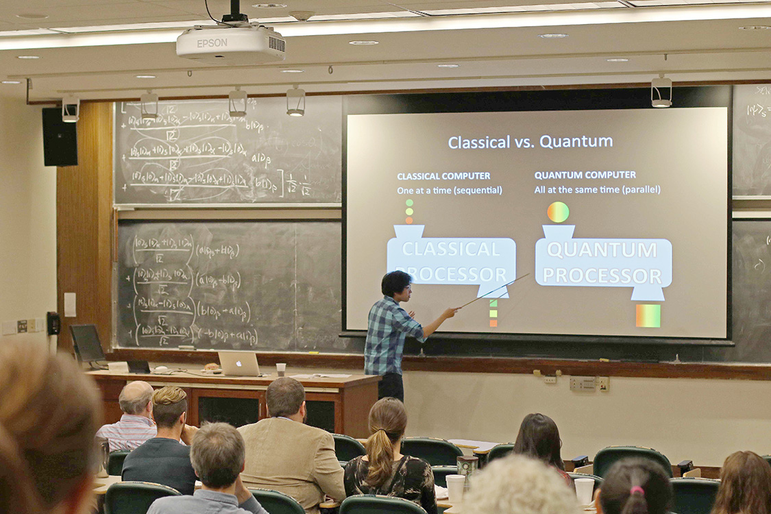 A quantum computer is a device that takes advantage of quantum effects, such as superposition and entanglement, to bring about unimaginable computing power, computing power so large, in fact, that, paradoxically, it would exceed the resources of the entire universe if implemented on classical supercomputers.The possibility of creating actual quantum computers is under development. Nam argues that quantum computers are realistic.