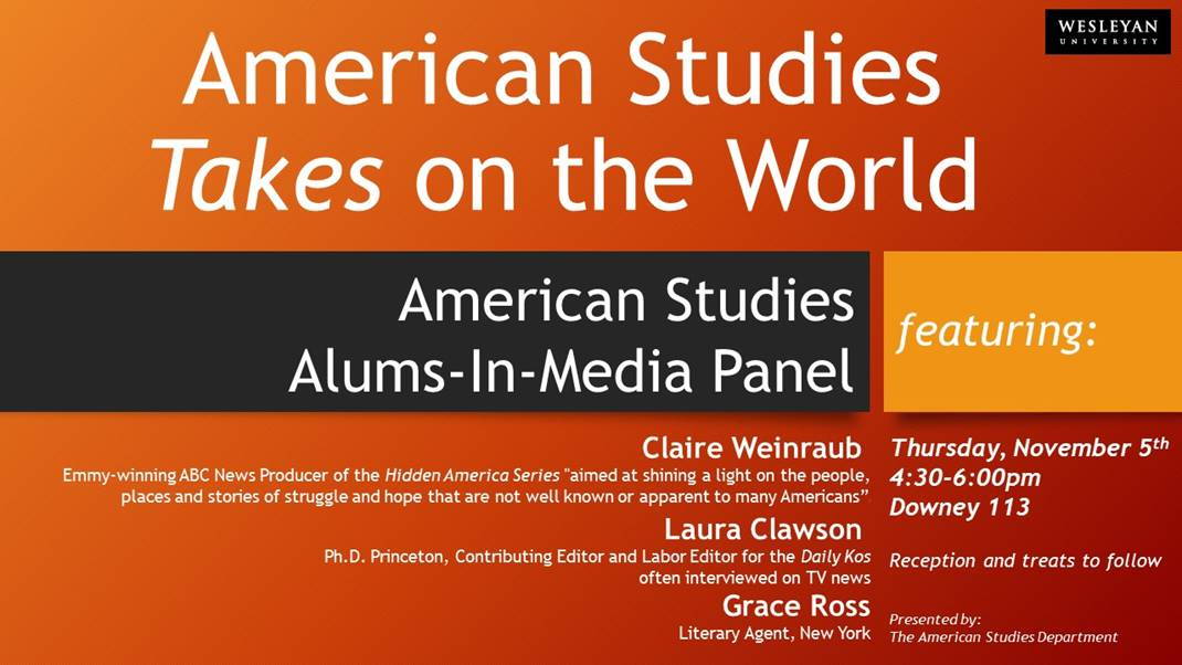 american studies An american studies is a weblog authored by two teachers from new trier high school in winnetka, illinois: spiro bolos (social studies) and john s o'connor (english.