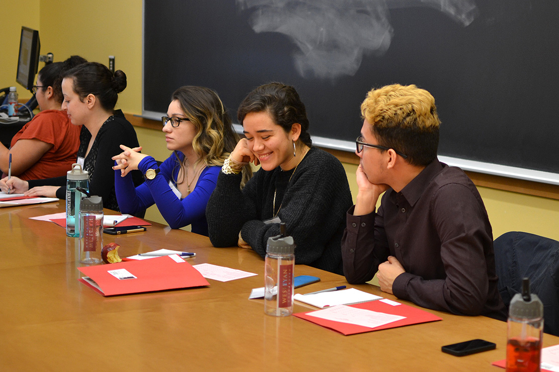 "During the eighth annual Social Justice Leadership Conference Oct. 31, students participated in many seminars, discussions and workshops under the theme ""Unmasking Social Change."