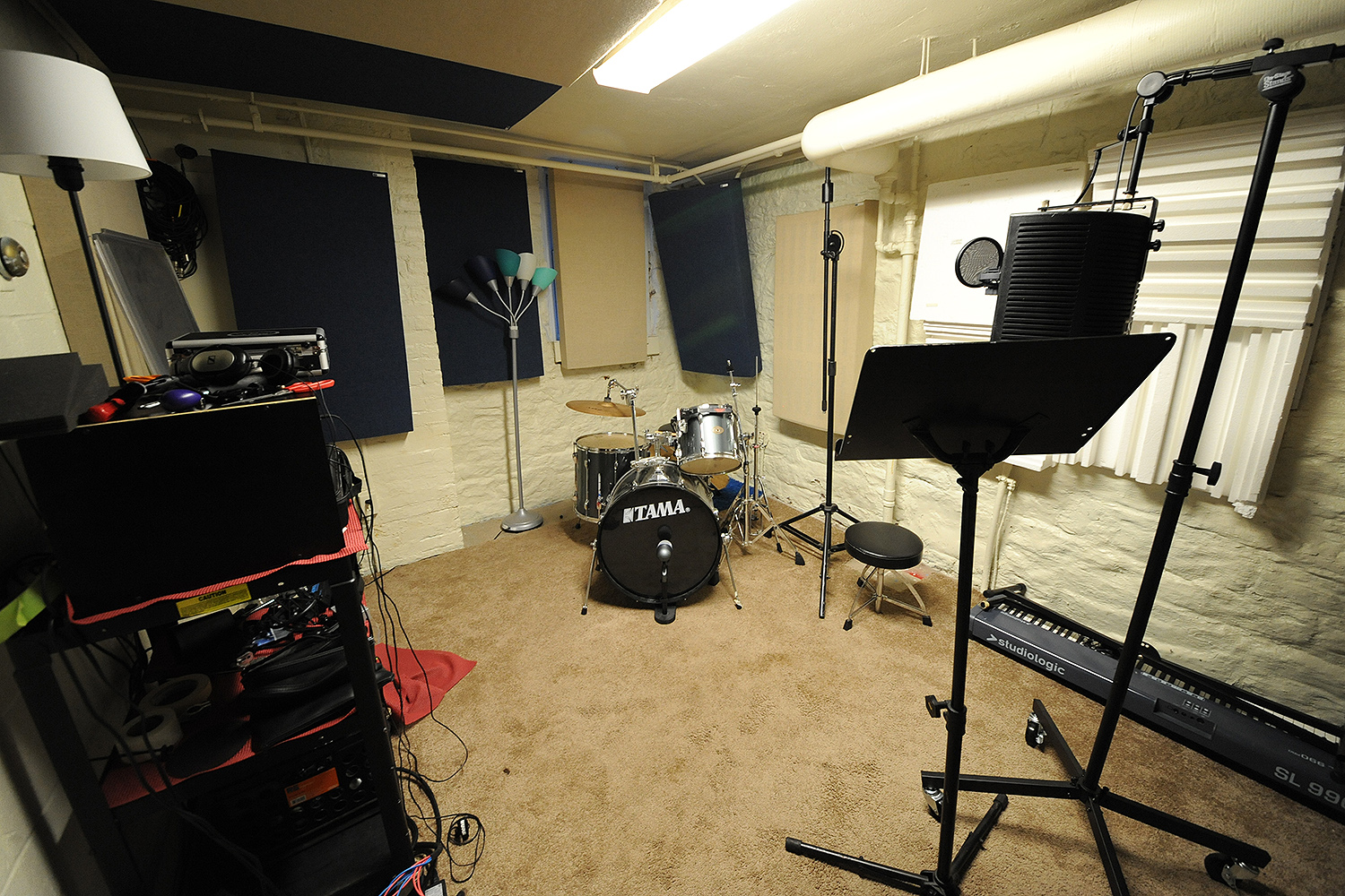 Red Feather Studios at Wesleyan University. (Photo by Will Barr '18)