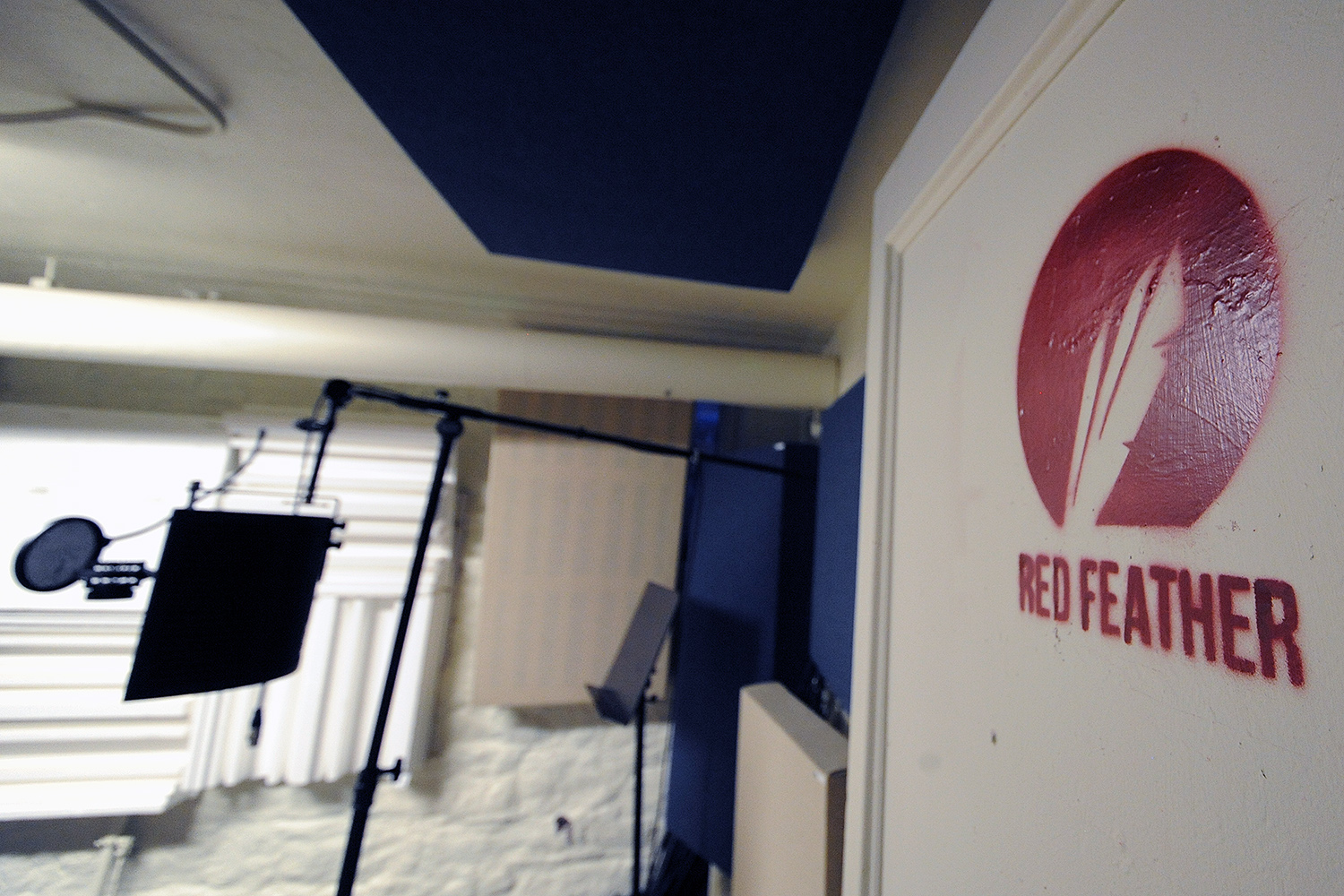 Red Feather's physical facility was built over the course of a year in three basement rooms in the University Organizing Center previously used for storage.