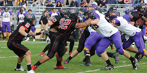 The Wesleyan Cardinals will take on the Williams Ephs Nov. 7. During the 2013 Homecoming game, Wesleyan defeated Williams 16-14 and earned the Little Three title