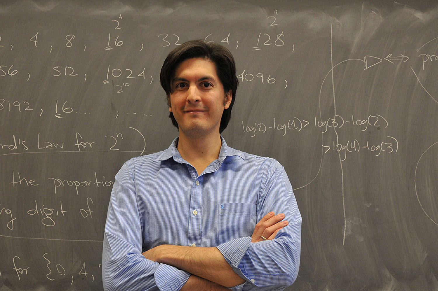 Assistant Professor of Mathematics Felipe Ramírez is teaching courses in probability theory and homogenous dynamics and diophantine approximation this fall.