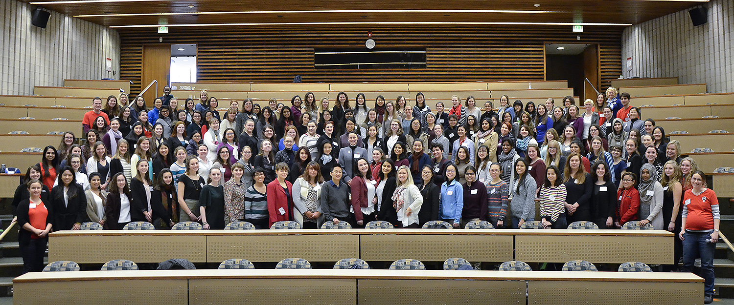 More than 200 women undergraduates from the North East who are majoring in physics attended the American Physical Society Conferences for Undergraduate Women in Physics (CUWiP)