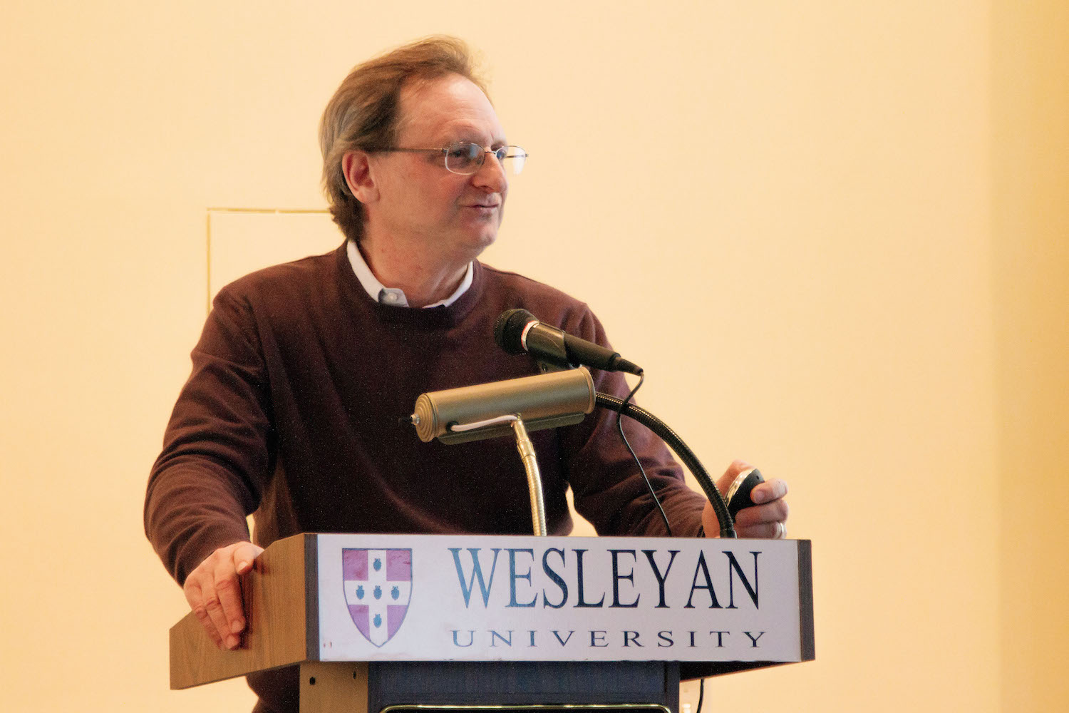 "Gerard Koeppel '79, an urban historian, met with Wesleyan students and faculty on Feb. 18 to discuss ""The Streets of New York."""