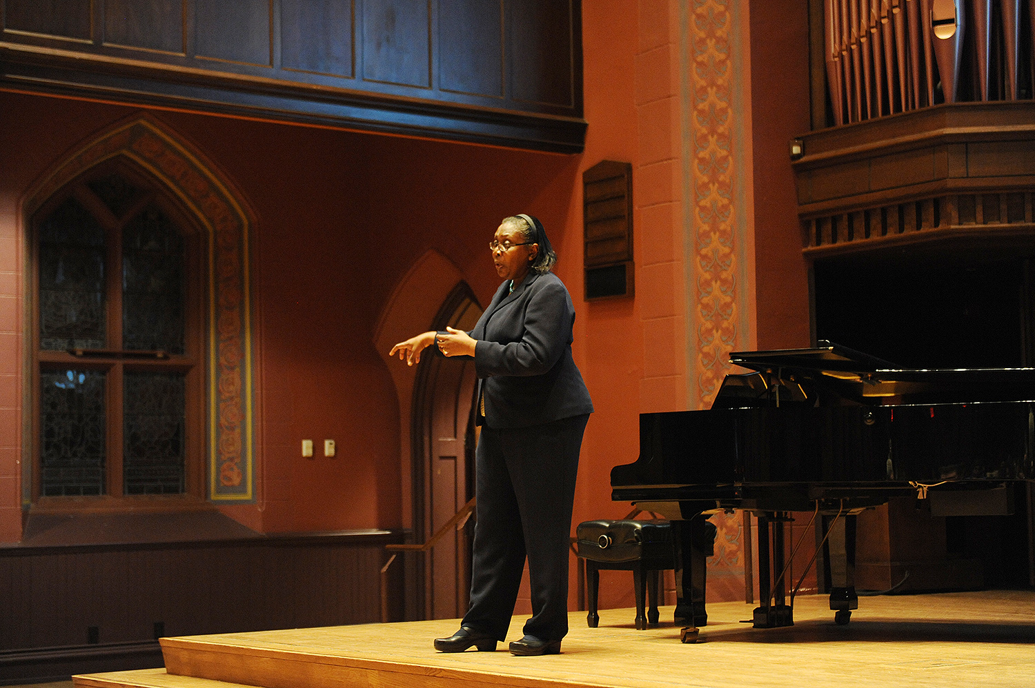 "On Jan. 29, the campus community attended the annual commemoration of Rev. Dr. Martin Luther King Jr.'s legacy in Memorial Chapel. Dorceta E. Taylor, a leading voice in the environmental justice movement, delivered the keynote address, titled ""Different Shades of Green or Beyond the Farm."""