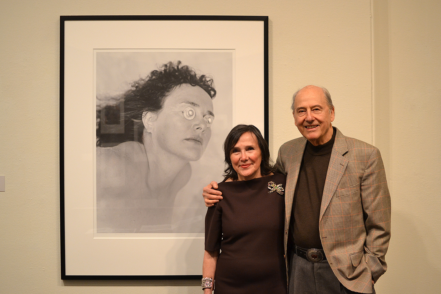 Photographing Ina, an exhibition of work by Phil Trager '56 and based on one of his two news books, opened at the Davison Art Center on March 24. It will run through May 22.