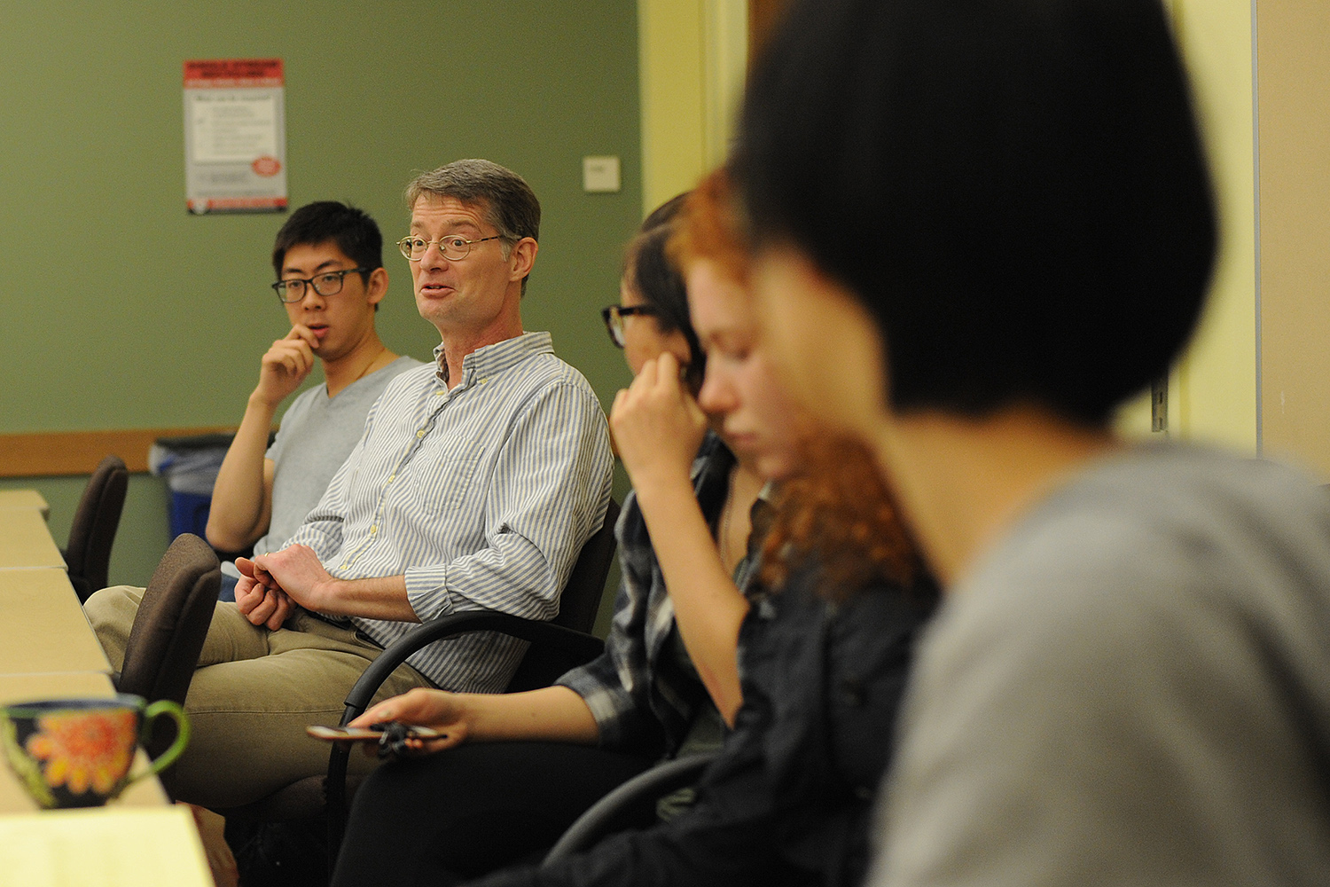 The breakout sessions were discussed in English, Chinese, Japanese and Korean.