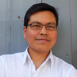 Rick Barot '92 received a 2016 Guggenheim for poetry. (Photo by Mara Barot.)