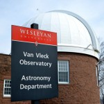 The building was named for Professor John Monroe Van Vleck, who taught mathematics and astronomy at Wesleyan from 1853 until his death in 1912.