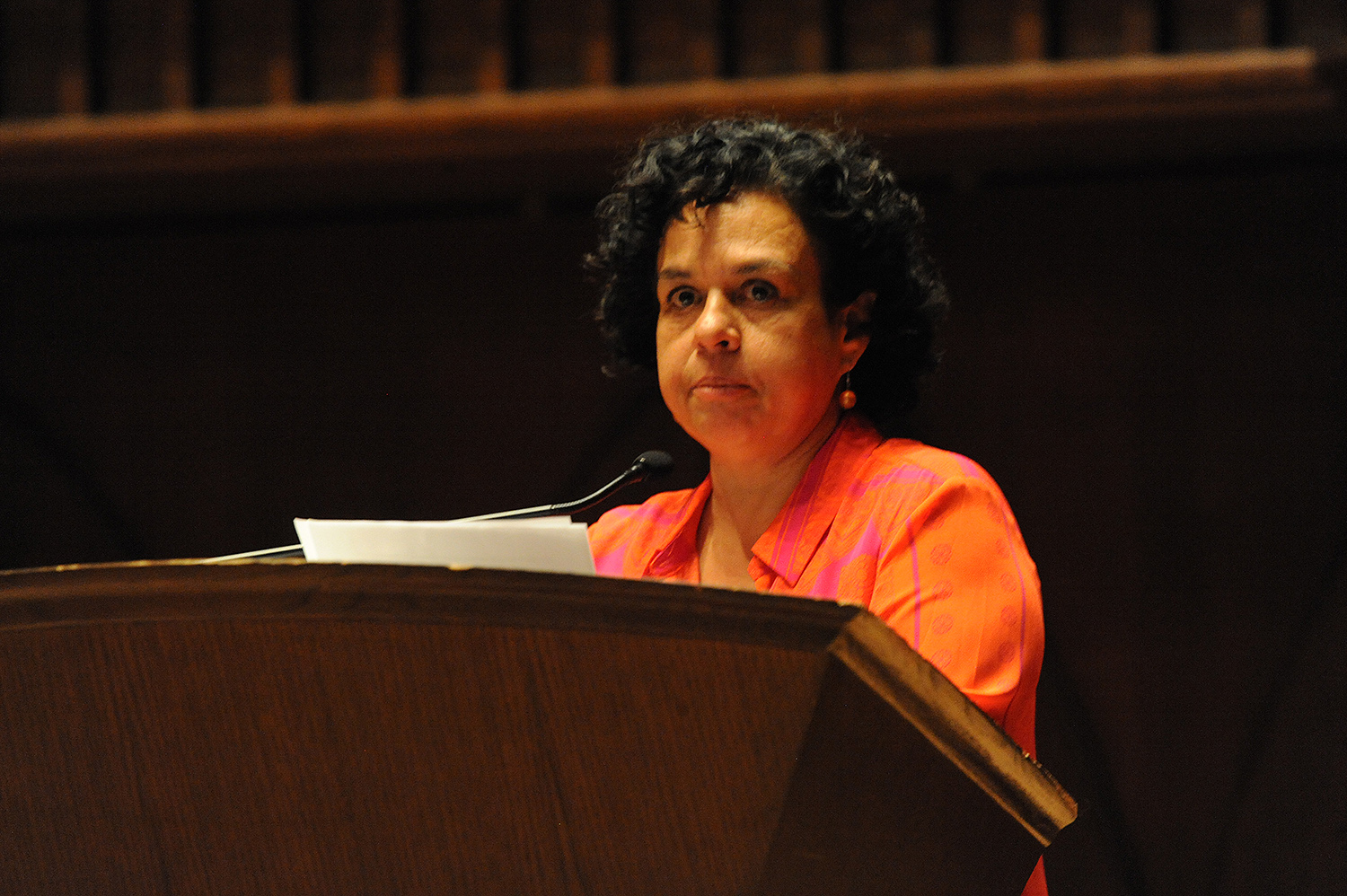 """Associate Professor of Theater and Latin American Studies Cláudia Tatinge Nascimento presented a talk titled """"The Other Latin America."""""""