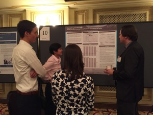 Students presented research at the 74th annual Midwest Political Science Association conference in Chicago.