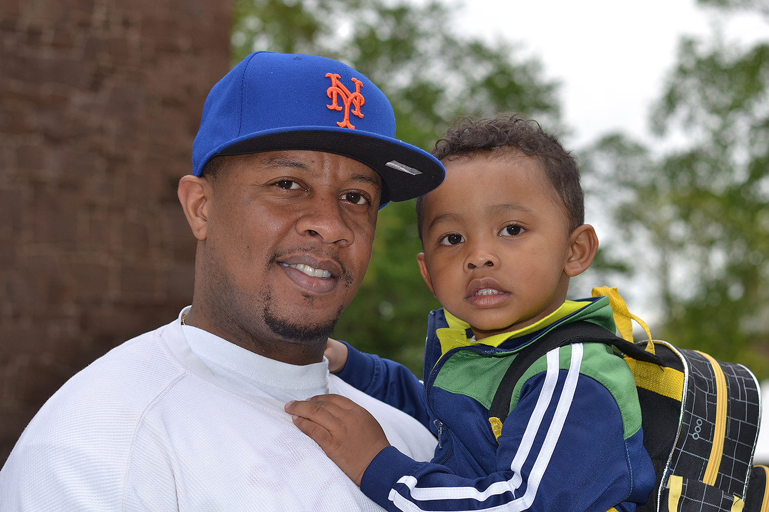 Chavez Sears '00 (Middletown, Conn.) and his son, Telvin